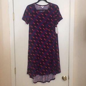 S LuLaRoe Carly Dress BB11 877